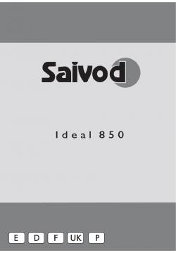 Saivod Ideal 850