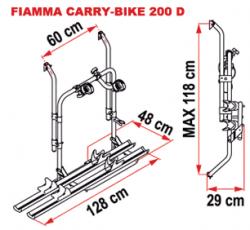 Fiamma Carry-Bike 200 D