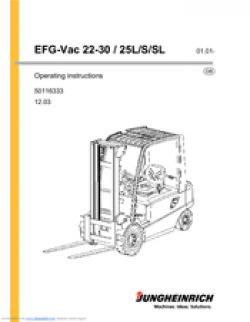 Jungheinrich EFG Vac 22