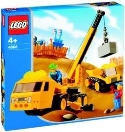 Lego 4668 4Juniors Kranwagen mit
